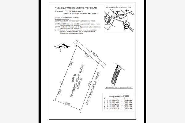 Foto de terreno habitacional en venta en  , residencial del bosque, veracruz, veracruz de ignacio de la llave, 8739155 No. 01