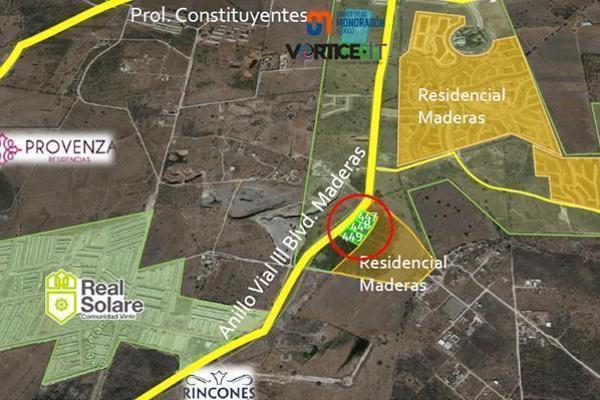 Foto de terreno habitacional en venta en  , residencial el parque, el marqués, querétaro, 14022721 No. 01