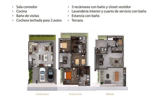 Foto de casa en venta en  , residencial la escondida 2do. sector, monterrey, nuevo león, 14029056 No. 04