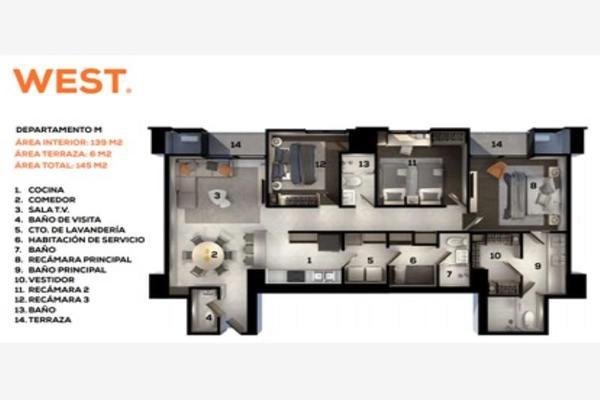 Foto de departamento en venta en residencial la huasteca 124, residencial la huasteca, santa catarina, nuevo león, 0 No. 20