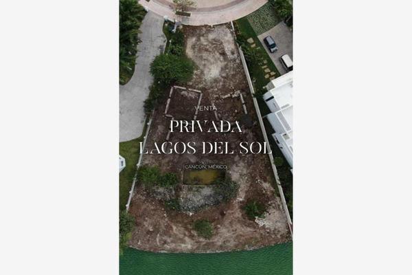Foto de terreno habitacional en venta en residencial lagos del sol 1, lagos del sol, benito juárez, quintana roo, 0 No. 01