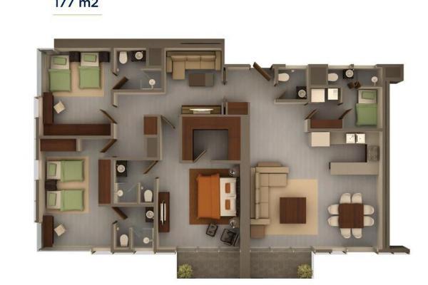 Foto de departamento en venta en  , residencial santa bárbara 1 sector, san pedro garza garcía, nuevo león, 4635701 No. 05