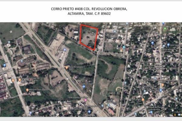 Foto de terreno habitacional en renta en  , revolución obrera, altamira, tamaulipas, 0 No. 01