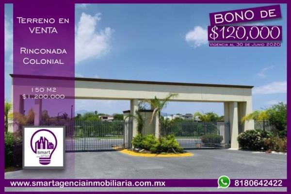Foto de terreno habitacional en venta en  , rinconada colonial 3 camp., apodaca, nuevo león, 13358373 No. 01