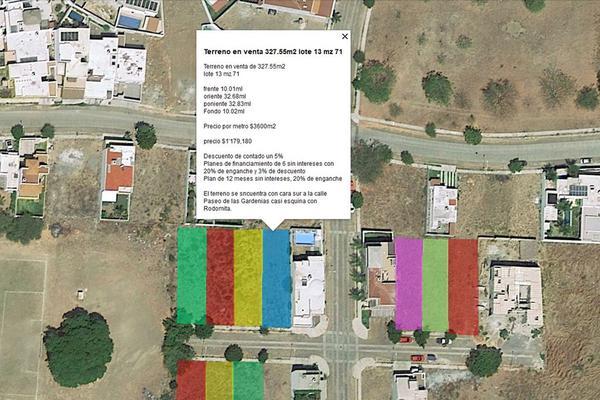 Foto de terreno habitacional en venta en rodomita 13, paseo de la hacienda, colima, colima, 0 No. 01