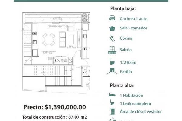 Foto de departamento en venta en  , royal del norte, mérida, yucatán, 9308257 No. 06