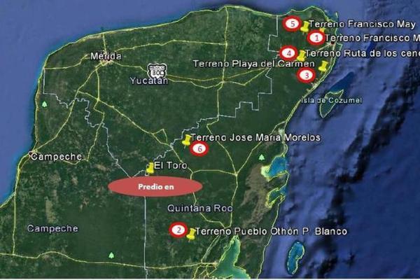 Foto de terreno habitacional en venta en  , saban, josé maría morelos, quintana roo, 10482223 No. 02