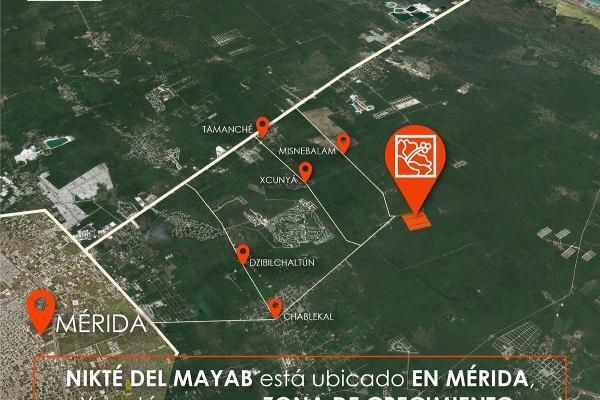 Foto de terreno habitacional en venta en  , sac-nicte, mérida, yucatán, 14028713 No. 01