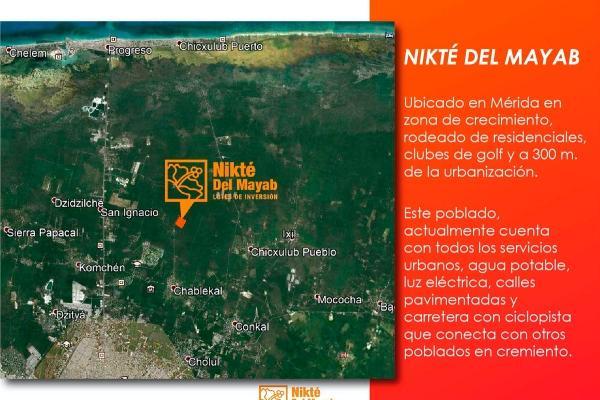 Foto de terreno habitacional en venta en  , sac-nicte, mérida, yucatán, 14028713 No. 02