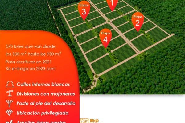 Foto de terreno habitacional en venta en  , sac-nicte, mérida, yucatán, 14028713 No. 03