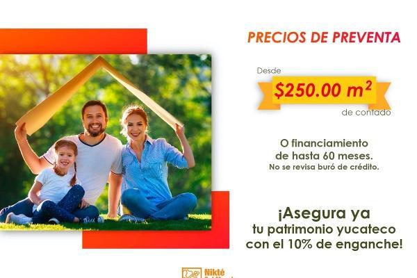 Foto de terreno habitacional en venta en  , sac-nicte, mérida, yucatán, 14028713 No. 04