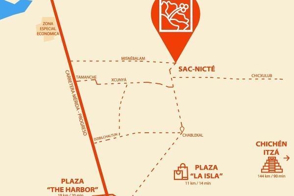 Foto de terreno habitacional en venta en  , sac-nicte, mérida, yucatán, 14028713 No. 07