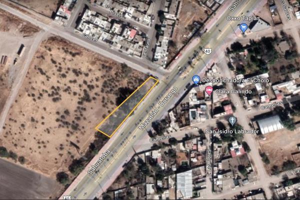 Foto de terreno comercial en venta en sahuatoba , 15 de mayo (tapias), durango, durango, 0 No. 01