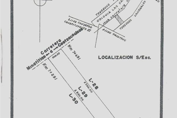 Foto de terreno industrial en venta en salida a carretera transismica , kilómetro 25, cosoleacaque, veracruz de ignacio de la llave, 3733787 No. 01