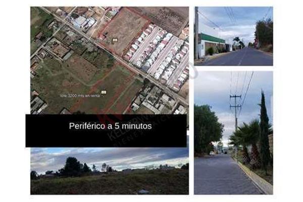 Foto de terreno habitacional en renta en  , san andrés cholula, san andrés cholula, puebla, 8855434 No. 01