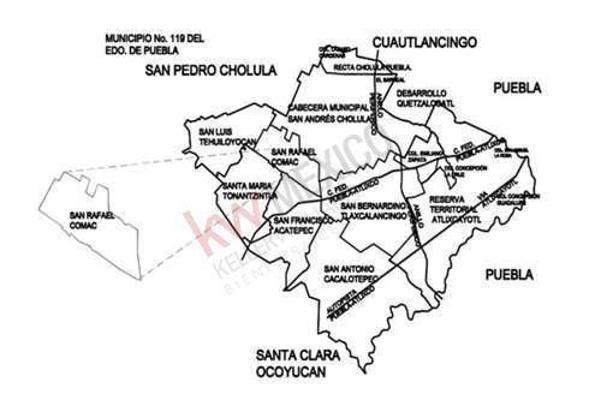 Foto de terreno habitacional en renta en  , san andrés cholula, san andrés cholula, puebla, 8855434 No. 19