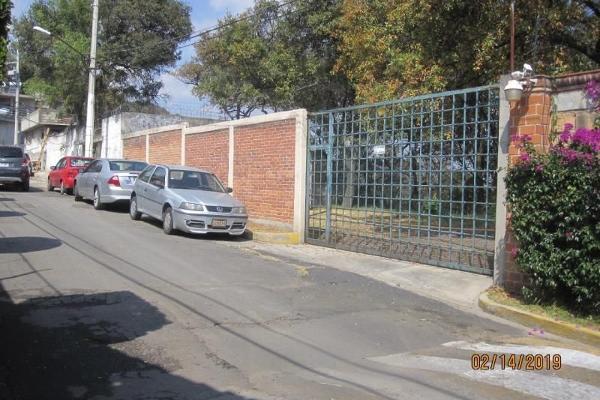 Foto de terreno habitacional en venta en  , san andrés totoltepec, tlalpan, df / cdmx, 14037537 No. 04