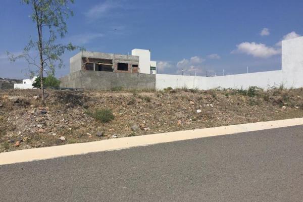 Foto de terreno habitacional en venta en san antonio 4, punta juriquilla, querétaro, querétaro, 8291072 No. 01