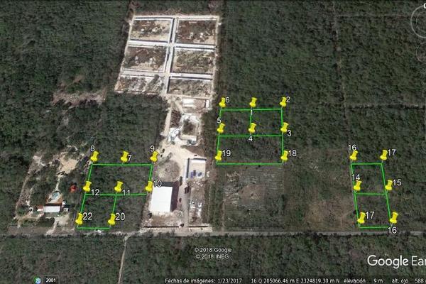 Foto de terreno habitacional en venta en  , san antonio chel, hunucmá, yucatán, 7860252 No. 01