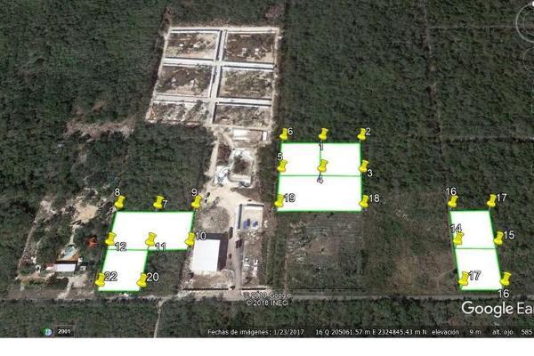 Foto de terreno habitacional en venta en  , san antonio chel, hunucmá, yucatán, 7860252 No. 02