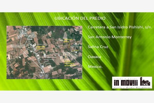 Foto de terreno industrial en venta en  , san antonio monterrey, salina cruz, oaxaca, 8853757 No. 05