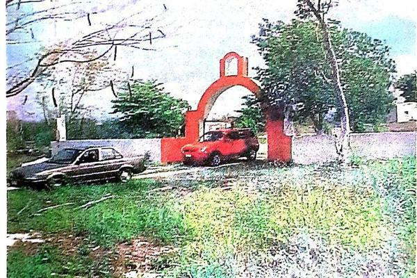 Foto de terreno habitacional en venta en  , san antonio tehuitz, kanasín, yucatán, 7923032 No. 01
