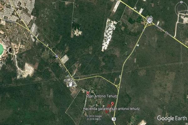 Foto de terreno habitacional en venta en  , san antonio tehuitz, kanasín, yucatán, 7923032 No. 03