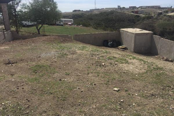 Foto de terreno habitacional en venta en  , pórticos de san antonio, tijuana, baja california, 5395055 No. 01