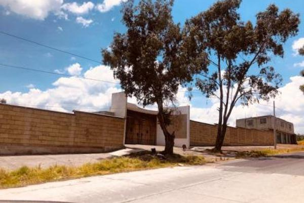 Foto de terreno habitacional en venta en  , san bartolomé tlaltelulco, metepec, méxico, 8881878 No. 01