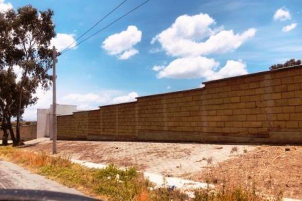 Foto de terreno habitacional en venta en  , san bartolomé tlaltelulco, metepec, méxico, 8881878 No. 02