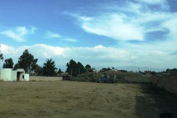Foto de terreno habitacional en venta en  , san bartolomé tlaltelulco, metepec, méxico, 8881878 No. 07