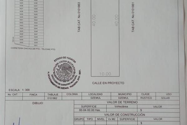 Foto de terreno habitacional en venta en  , san diego, dzemul, yucatán, 9137891 No. 10