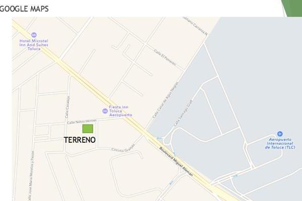 Foto de terreno habitacional en venta en  , san blas otzacatipan, toluca, méxico, 7913485 No. 02