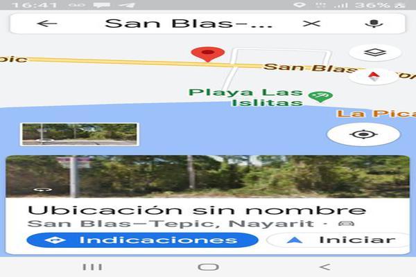 Foto de terreno habitacional en venta en san blas-tepic , matanchen, san blas, nayarit, 0 No. 02