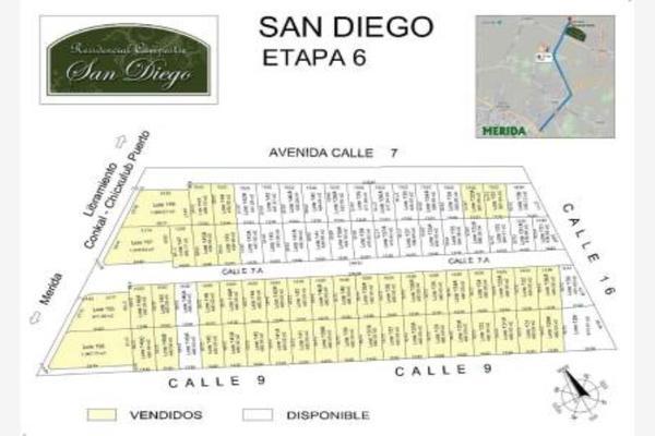 Foto de terreno habitacional en venta en san diego cutz san diego cutz, conkal, conkal, yucatán, 5659914 No. 01