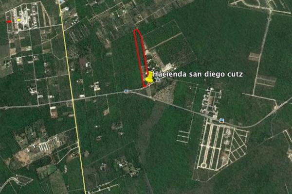 Foto de terreno habitacional en venta en  , san francisco de asís, conkal, yucatán, 14028729 No. 03