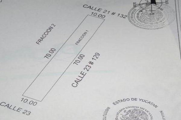 Foto de terreno habitacional en venta en  , san francisco de asís, conkal, yucatán, 7888055 No. 02