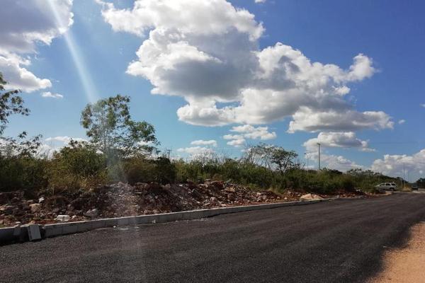 Foto de terreno habitacional en venta en  , san francisco de asís, conkal, yucatán, 8422967 No. 01