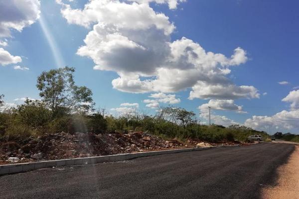 Foto de terreno habitacional en venta en  , san francisco de asís, conkal, yucatán, 8422967 No. 03