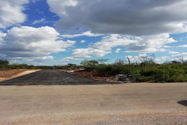 Foto de terreno habitacional en venta en  , san francisco de asís, conkal, yucatán, 8422967 No. 04