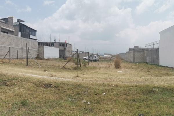 Foto de terreno habitacional en venta en  , san gaspar tlahuelilpan, metepec, méxico, 14030479 No. 01