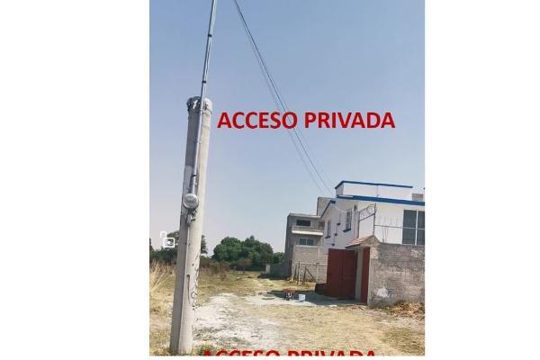 Foto de terreno habitacional en venta en  , san gaspar tlahuelilpan, metepec, méxico, 14030479 No. 07