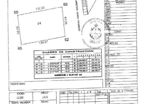 Foto de terreno habitacional en venta en  , san ignacio, progreso, yucatán, 1287553 No. 01