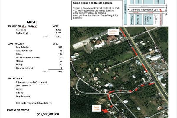 Foto de rancho en venta en san jorge 000, valles de santiago, santiago, nuevo león, 10081573 No. 27