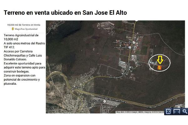 Foto de terreno industrial en venta en  , san josé el alto, querétaro, querétaro, 1248139 No. 01