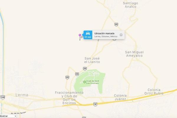 Foto de terreno habitacional en venta en  , san josé el llanito, lerma, méxico, 7913371 No. 13