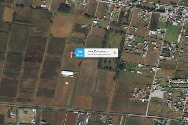 Foto de terreno habitacional en venta en  , san josé el llanito, lerma, méxico, 7913371 No. 17