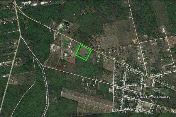 Foto de terreno habitacional en venta en  , san jose tzal, mérida, yucatán, 13328151 No. 01