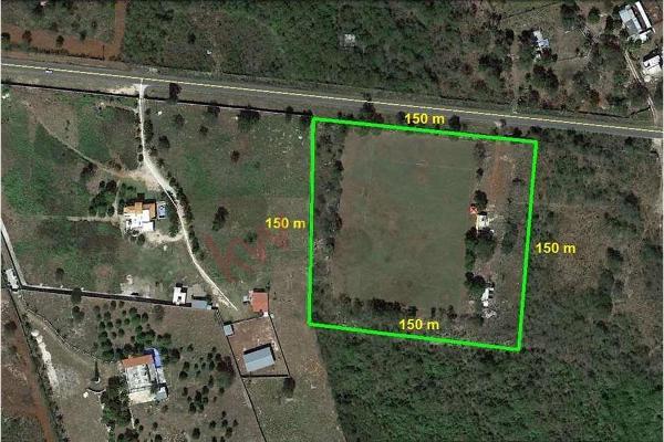 Foto de terreno habitacional en venta en  , san jose tzal, mérida, yucatán, 13328151 No. 02