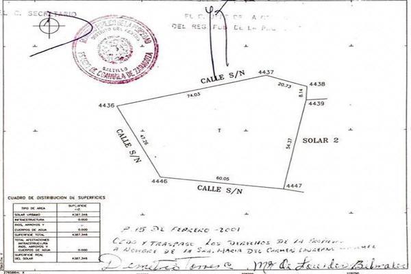 Foto de terreno habitacional en venta en san juan de la vaquería , san juan de la vaquería, saltillo, coahuila de zaragoza, 17094703 No. 09